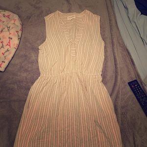 Olive + Oak striped sleeveless dress